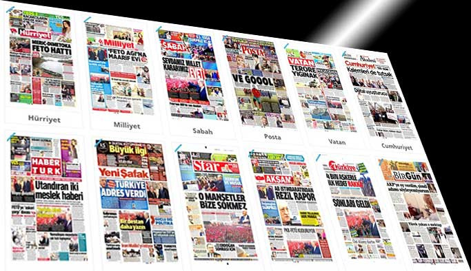Gazetelerin bugünkü manşetleri - 27 Şubat 2017