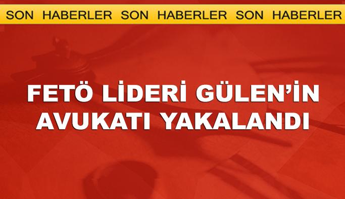 Gülen'in avukatı yakalandı