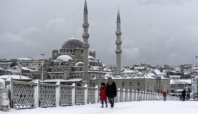 İstanbul'da sıcaklık sıfırın altına düşecek