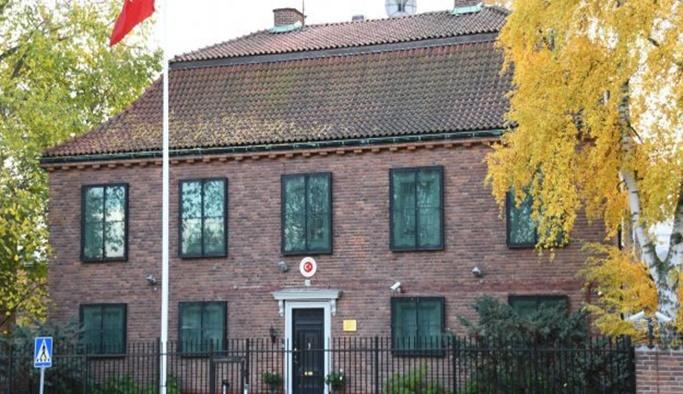 İsveç'teki Türk elçiliğine saldırı