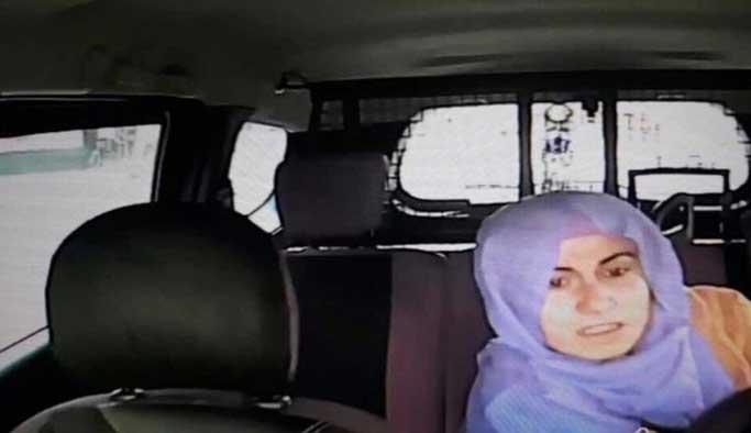 Kadın teröristin bombayı patlatma anı VIDEO