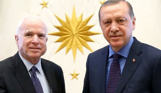 McCain, Erdoğan'a 'YPG ne olacak' diye sormuş