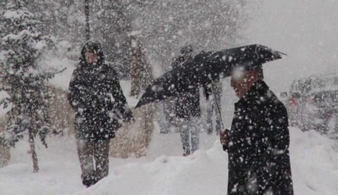 Meterolojiden 13 ile yoğun kar yağışı uyarısı