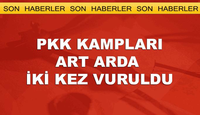 PKK kamplarına ikinci hava harekatı