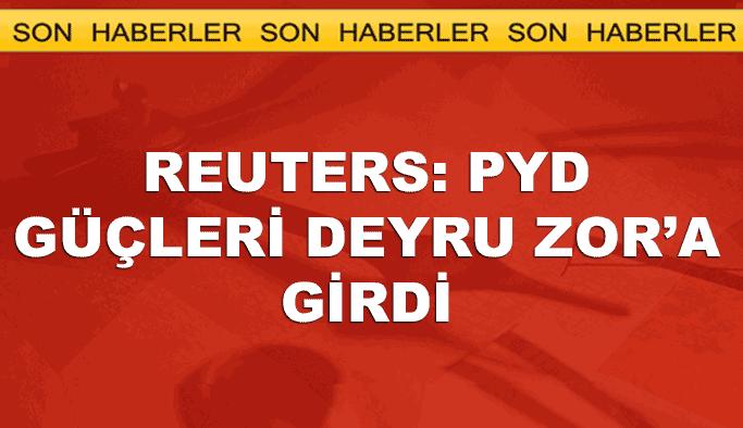 Reuters: PYD Deyru Zor'a girdi