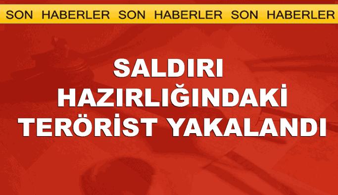 Saldırı hazırlığındaki PKK'lı terörist yakalandı