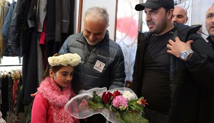 Suriyeli ihtiyaç sahipleri için 'Sevgi mağazası'