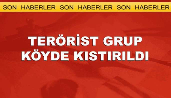 Terörist grup Nusaybin Koruköy'de kıstırıldı