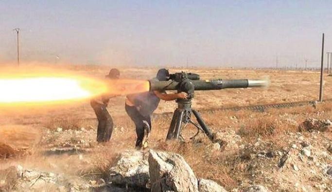 Muhaliflere verilmeyen ABD silahı DEAŞ'ta çıktı
