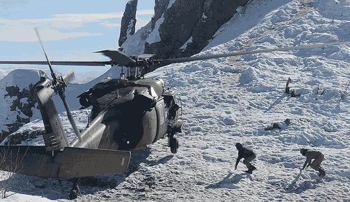 TSK, kar kış demeden PKK'nın tüm inlerine girdi