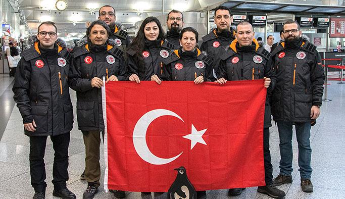 Türk Bilim Dünyası Antarktika'dan gelecek haberi bekliyor