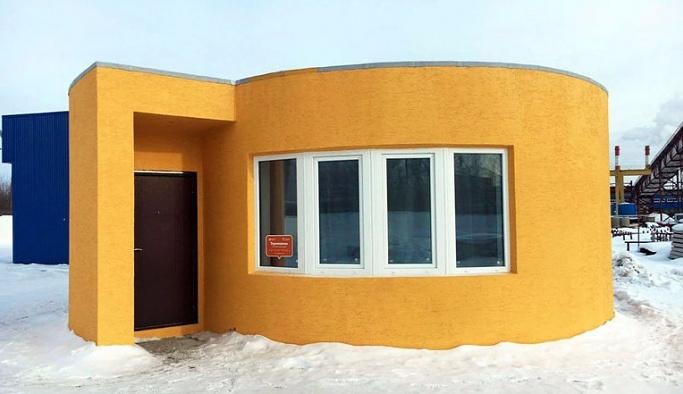 3D yazıcı ile 24 saat içinde ev inşa ettiler