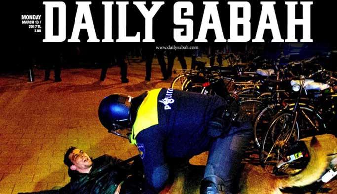 AB'nin bir maskesi daha düştü, Sabah gazetesini yasakladı