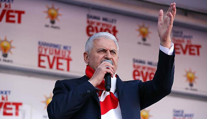 Başbakan Yıldırım'dan MHP'li muhaliflere: FETÖ'nün oyuncakları