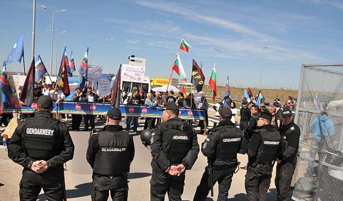 Bulgar polisi Türk seçmelere sınırları açtı