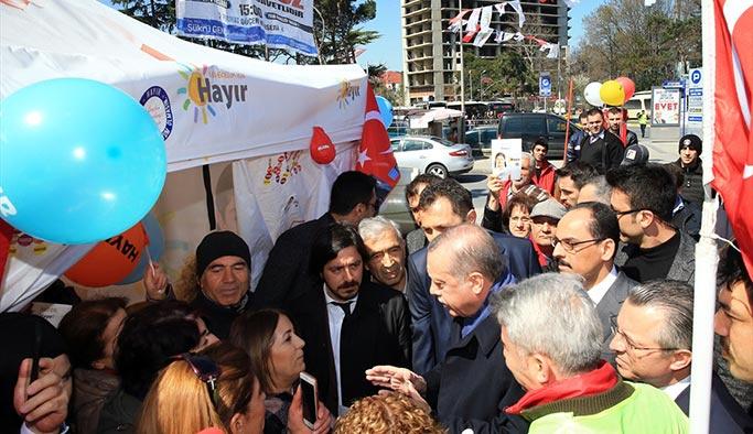 CHP'lilerin gözünden Erdoğan'ın 'çadır ziyareti'