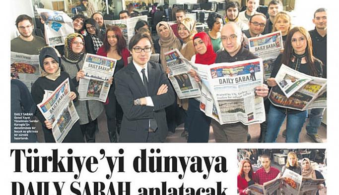 Daily Sabah'ın AP'de dağıtımının yasaklanmasına tepki
