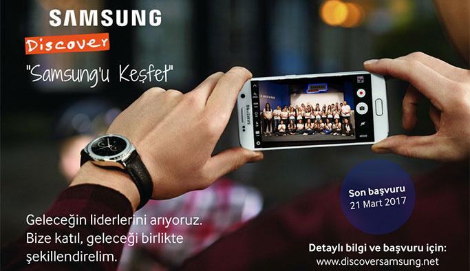 'Discover Samsung' Genç Yetenek İşe Alım Programı başladı!