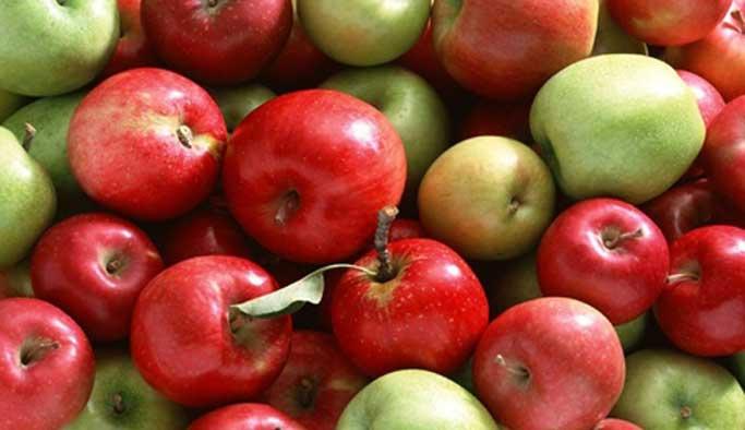 Elma yiyerek hastalıklardan korunun