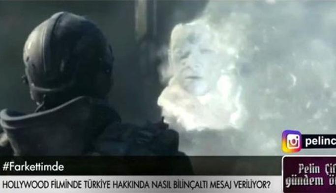 Erdoğan düşmanlığı Hollywood filminde