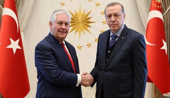 Erdoğan ile Tillerson görüşmesinin detayları belli oldu