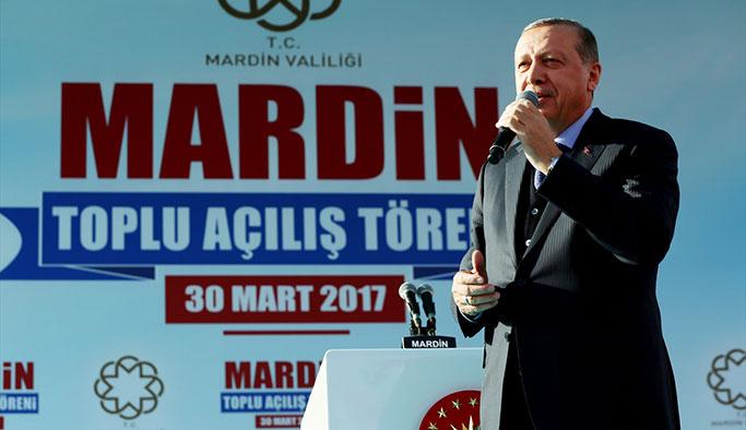 Erdoğan Mardin'den seslendi: Çözüm Süreci başlattık anlamadılar