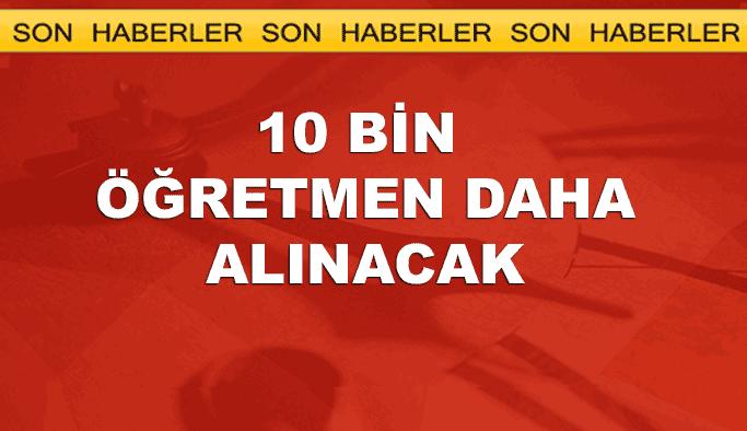 Erdoğan müjdeyi verdi: 10 bin öğretmen daha alınacak