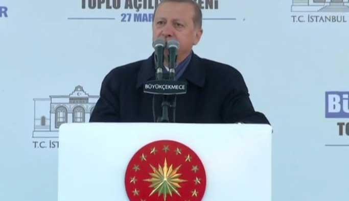 Erdoğan rest çekti: İspatlarsan istifa edeceğim