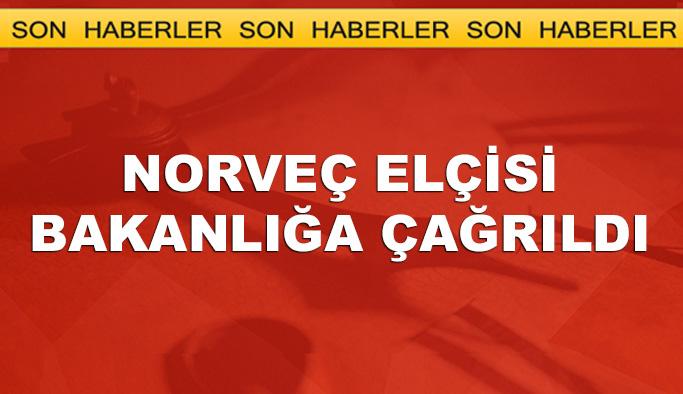 FETÖ'cüleri kabul Norveç'in elçisi bakanlığa çağrıldı