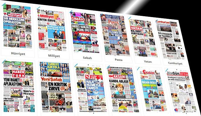 Gazetelerin bugünkü manşetleri - 10 Mart 2017