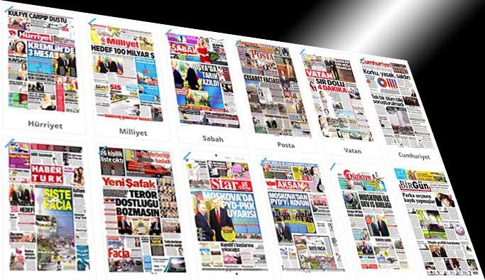 Gazetelerin bugünkü manşetleri - 11 Mart 2017
