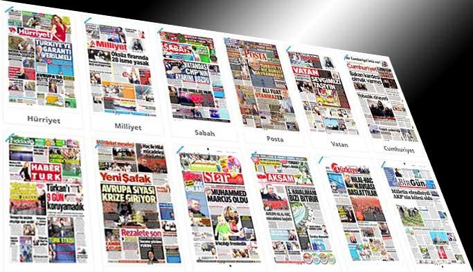 Gazetelerin bugünkü manşetleri - 17 Mart 2017