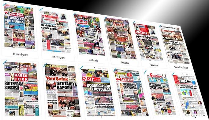 Gazetelerin bugünkü manşetleri - 18 Mart 2017