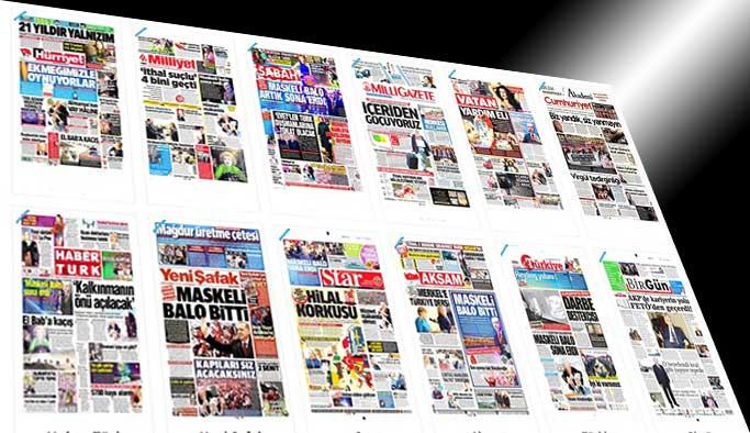 Gazetelerin bugünkü manşetleri - 20 Mart 2017