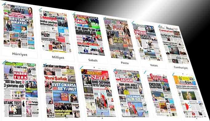 Gazetelerin bugünkü manşetleri - 21 Mart 2017