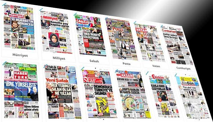 Gazetelerin bugünkü manşetleri - 28 Mart 2017