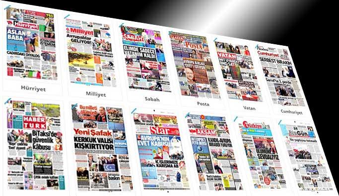 Gazetelerin bugünkü manşetleri - 29 Mart 2017
