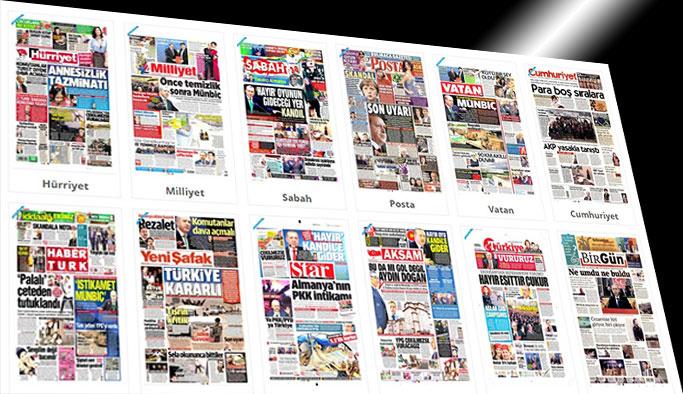 Gazetelerin bugünkü manşetleri - 3 Mart 20174