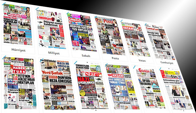Gazetelerin bugünkü manşetleri - 6 Mart 2017