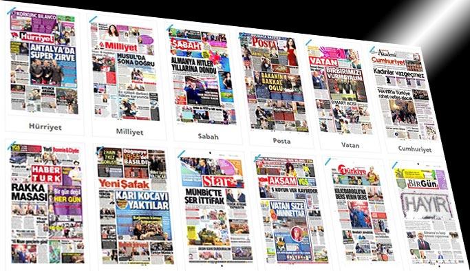 Gazetelerin bugünkü manşetleri - 8 Mart 2017