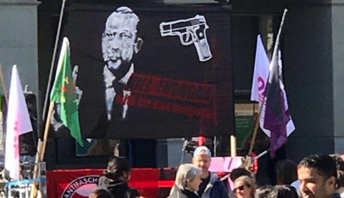 'Hayır' mitinginde 'Erdoğan'ı öldürün' pankartı