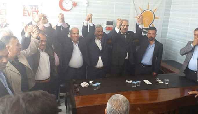 HDP'den istifa edip AK Parti'ye geçtiler