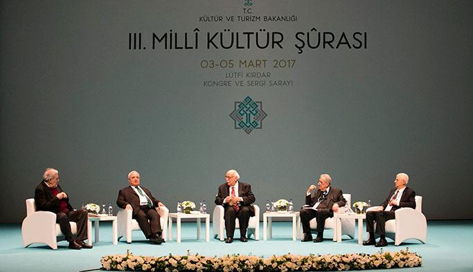 Kültür ve Sanat dünyasının devleri Kültür Şûrası'nda buluştu