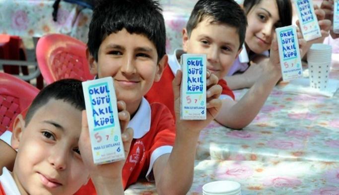 MEB iki parti sütün okullarda dağıtımını durdurdu