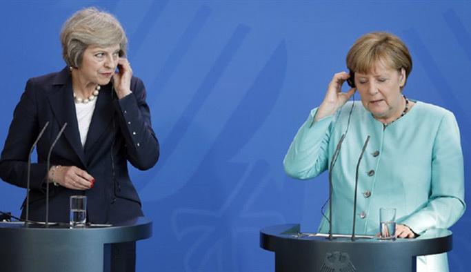 Merkel küstü, İngiltere'ye randevu vermedi
