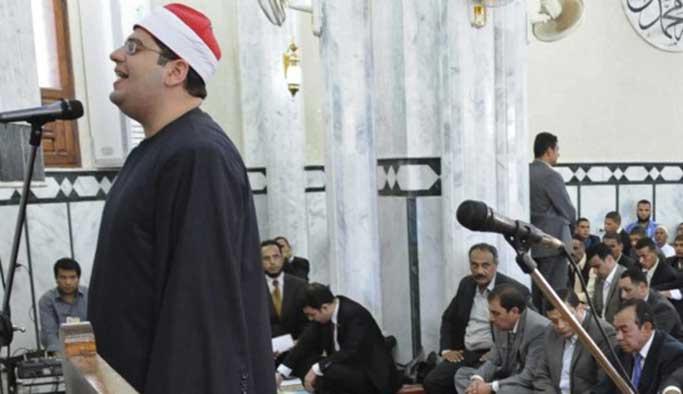 Mısır'da Türkiye destekçisi imama ceza