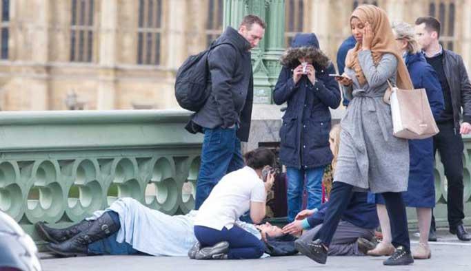 Müslüman kadına 'sanal linç'
