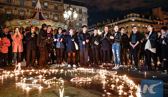 Paris'teki Çinliler 'polis şiddeti'ne karşı ayaklandı