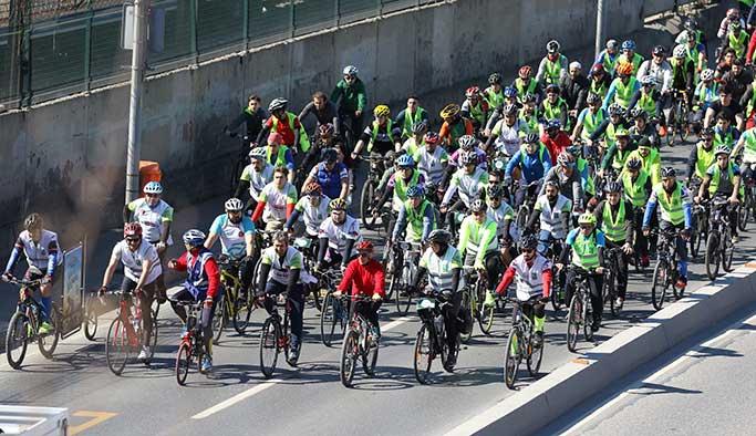 Pedallar Yeşilay için döndü
