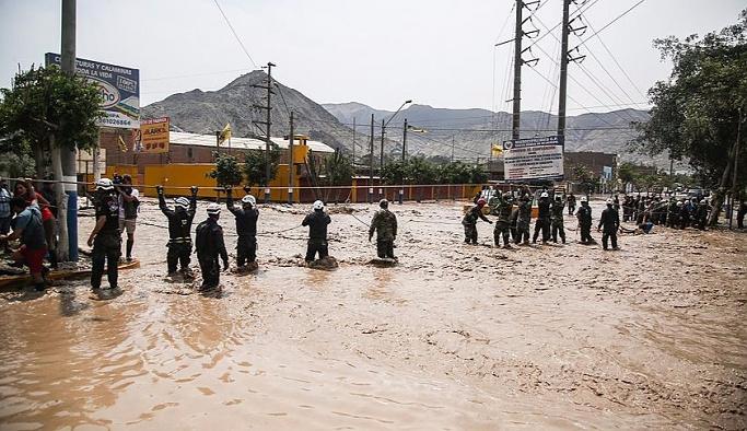 Peru'da selden ölenlerin sayısı 75'e yükseldi